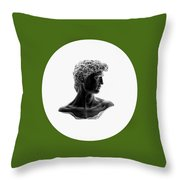 David 33 Throw Pillow