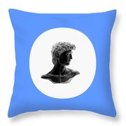 David 35 Throw Pillow