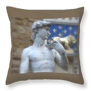 David At Palazzo Throw Pillow