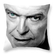 David Bowie In Clip Valentine's Day - 1 Throw Pillow