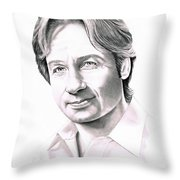 David Duchnovey Throw Pillow