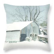 David Hoyles Shed Throw Pillow