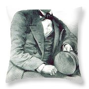 David Livingstone, Scottish Explorer Throw Pillow