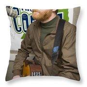 David Lowery Of Cracker Throw Pillow