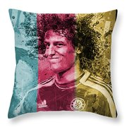 David Luiz - C Throw Pillow