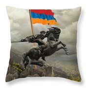 David Of Sassoun Throw Pillow