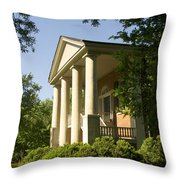 Davidson College Eumenean Hall Throw Pillow