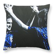 Davie Cooper - Ally Mccoist - Glasgow Rangers Fc Throw Pillow