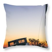 Davis Aground Throw Pillow