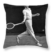 Davis Cup Play Throw Pillow