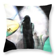 Davy's On The Road Again Throw Pillow