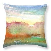 Dawn 43 Throw Pillow