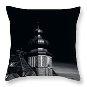 Dawn And Night Throw Pillow