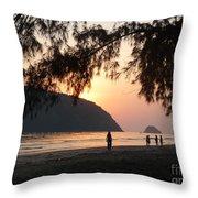 Dawn By The Sea 06 Throw Pillow