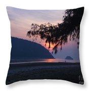 Dawn By The Sea Throw Pillow