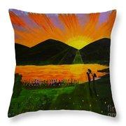 Dawn Dream Throw Pillow
