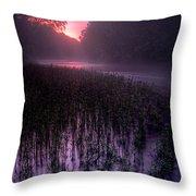 Dawn Mist Throw Pillow