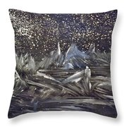 Dawn Of The Moon Throw Pillow