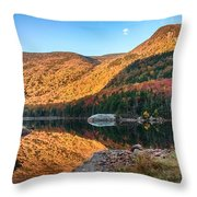 Dawn Over Kinsman Notch Throw Pillow
