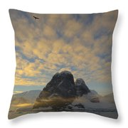 Dawn Over The Lemaire Throw Pillow