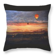 Dawn Patrol Throw Pillow