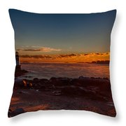 Dawn Rises Throw Pillow