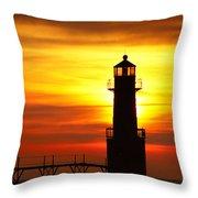 Dawn's Brighter Light Throw Pillow