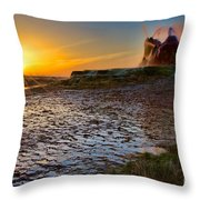 Dawn's Radiance Throw Pillow