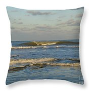 Day At The Ocean Throw Pillow