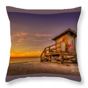 Day Before Spring Break Throw Pillow