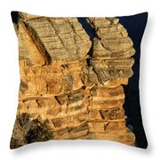 Day Break At Mather Point Throw Pillow
