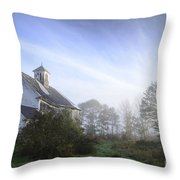 Day Break At The Farm Throw Pillow by Alana Ranney