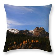 Day Dreaming In Colorado Throw Pillow