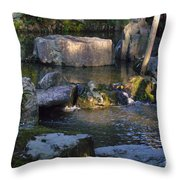 Day End 2 Throw Pillow