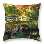 Day End Throw Pillow