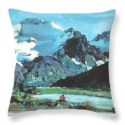 Day In The Wilderness Throw Pillow