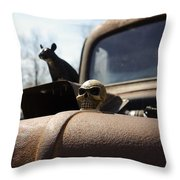Day Of The Rat Throw Pillow