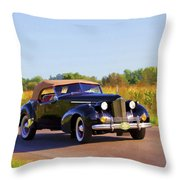 Day Tripper Throw Pillow