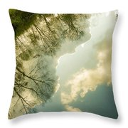 Daydreaming On The Canal Throw Pillow