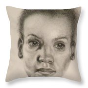 Daydreams Drawing Throw Pillow