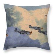 Daydreams Over Cambridgeshire Throw Pillow