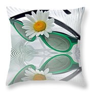 Daylight Saving Time Throw Pillow