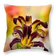 Daylily Picture 541 Throw Pillow