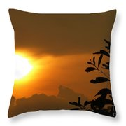Day's Done My Sun Throw Pillow