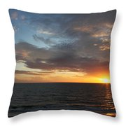 Days End Beauty Throw Pillow
