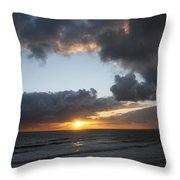 Day's End On Singer Island Throw Pillow