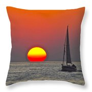 Days End Throw Pillow