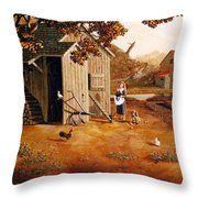 Days Of Discovery Throw Pillow