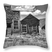 Days Of Glory Gone Throw Pillow by Sandra Bronstein