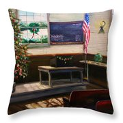 Days Til Christmas Throw Pillow